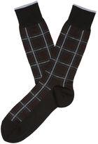 Perry Ellis Executive Grid Pattern Sock