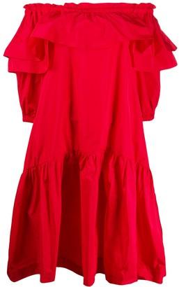 P.A.R.O.S.H. ruffle shift dress