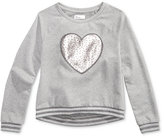 Epic Threads Heart Sweatshirt, Big Girls (7-16), Created for Macy's
