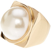 French Connection Simulated Pearl Ring - Size 7