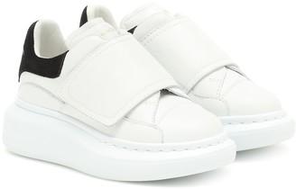 ALEXANDER MCQUEEN KIDS Leather sneakers