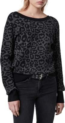 AllSaints Roxanne Metallic Sweater