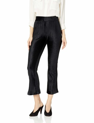 BCBGeneration Women's Flare Knit Cropped Pant