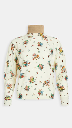 Paco Rabanne Floral Printed Sweater