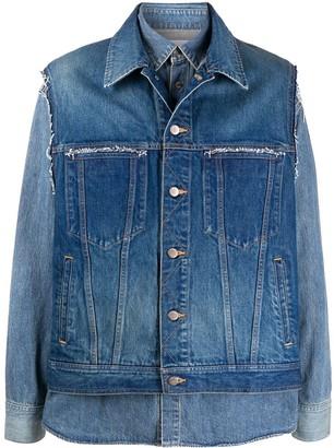 Ambush Layered Denim Jacket