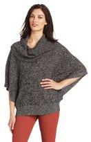 Jones New York Women's Cowl Neck Poncho Sweater