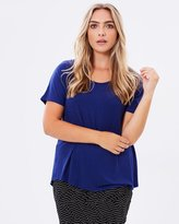 Harlow Taking it Easy Tee - Indigo