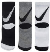 Nike Three-Pack Swoosh Crew Socks