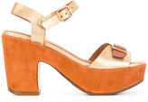Chie Mihara Fasha sandals - women - Calf Leather/Calf Suede/rubber - 36