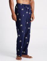 Marks and Spencer Supersoft Printed Pyjama Bottoms