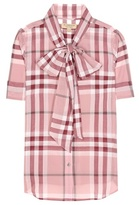Burberry Checked cotton shirt