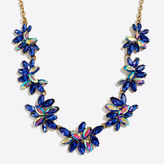 J.Crew Factory Gemstone cluster necklace