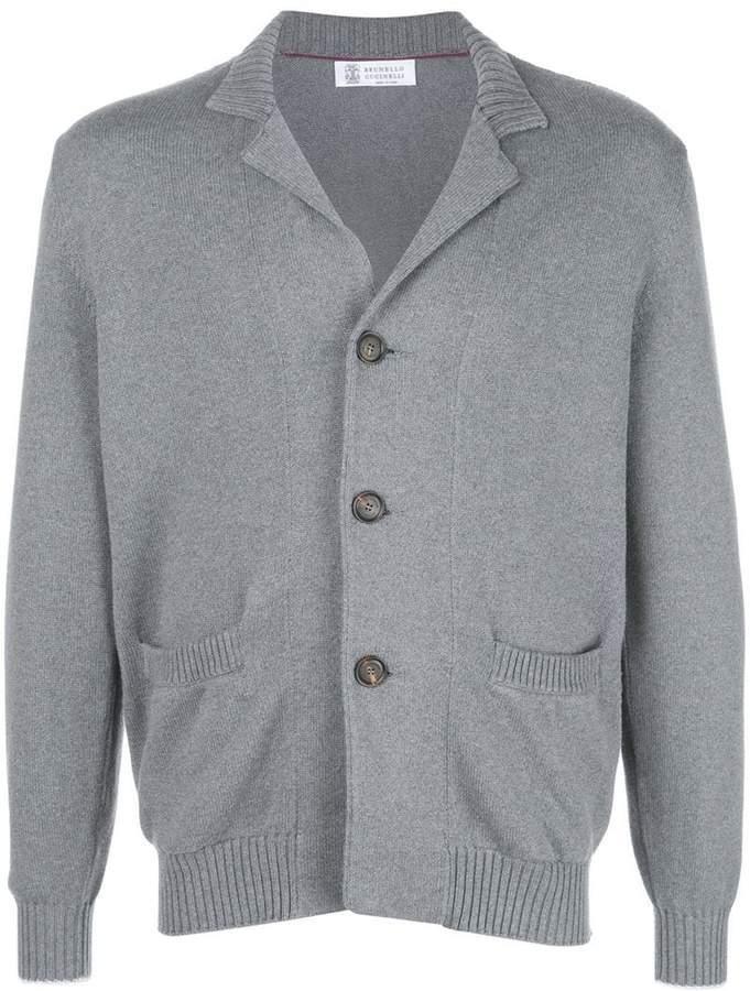 Brunello Cucinelli button knitted cardigan