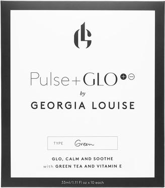 Georgia Louise PULSE+GLO Green Sheet Masks