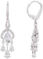 Nadri CZ Embellished Chandelier Earrings