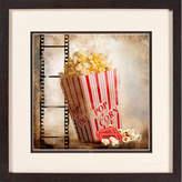 PTM Images Popcorn Gicle Framed Graphic Art