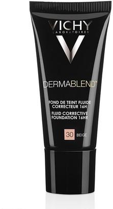 Vichy Dermablend Fluid Corrective Foundation 30Ml 30 Beige (Light/Medium, Neutral)