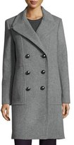 Elie Tahari Shayla Double-Breasted Wool-Blend Coat