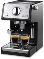 De'Longhi 15-Bar Pump Espresso and Cappuccino Maker - Black/Stainless Steel