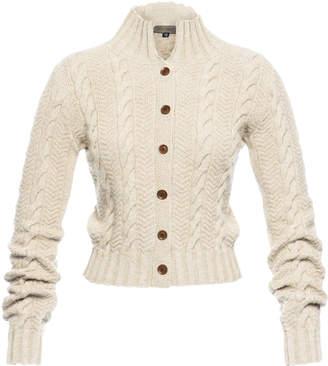 Lena Hoschek Pippa Wool and Cashmere-Blend Sweater