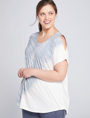 Lane Bryant LIVI Cold-Shoulder Top