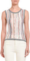 Missoni Bubble Knit Shell Top