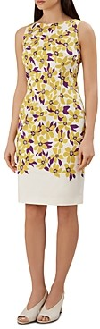 Hobbs London Fiona Floral Sheath Dress