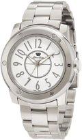 Glam Rock Women's GR50008 Aqua Rock White Dial Stainless Steel Watch