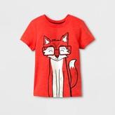 Cat & Jack Toddler Boys' Short Sleeve T-Shirt Cat & Jack Orange Spark