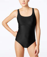 Nike Epic Trainer Mesh Racerback One-Piece Swimsuit