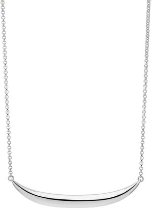 Larsson & Jennings Silver Kara Necklace