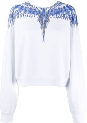 Marcelo Burlon County of Milan Wings boxy sweatshirt