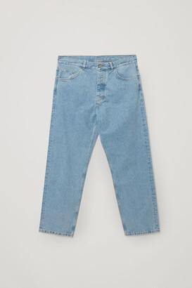 Cos Straight Organic Cotton Jeans