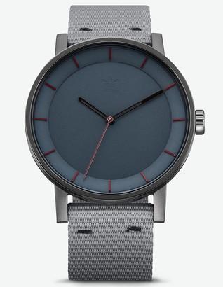 adidas DISTRICT_W1 Gunmetal & Legend Ivy Watch