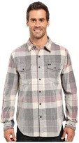 True Grit Vintage Plaid Canyon Tribeca Cord Long Sleeve Two-Pocket Shirt with Stitch