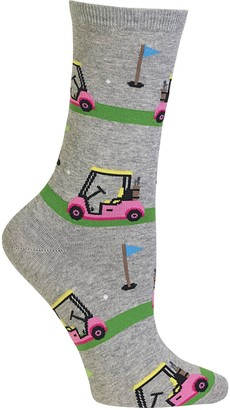 Hot Sox Women's Golf Cart Crew Socks