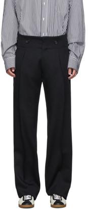 Lanvin Black Tailored Trousers