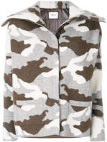 Max & Moi camouflage printed coat