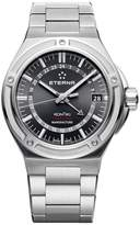 Eterna KonTiki 7740.41.41.0280 42mm Automatic Silver Steel Bracelet & Case Anti-Reflective Sapphire Men's Watch
