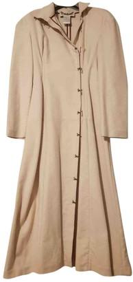 Chloé White Wool Coat for Women Vintage