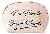 Charlotte Russe Heart Breaker Makeup Bag