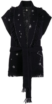 Alanui Star-Motif Sleeveless Jumper