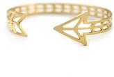 Kris Nations Arrow Cuff Gold Plate