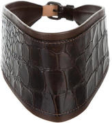 Givenchy Embossed Waist Belt
