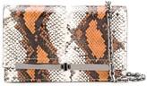 Casadei snakeskin-effect clutch bag