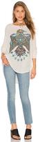 Lauren Moshi Kayla Oversized Long Sleeve