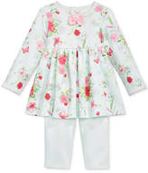 First Impressions 2-Pc. Floral-Print Tunic & Leggings Set, Baby Girls (0-24 months), Only at Macy's