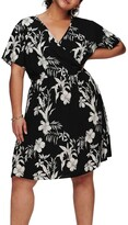Thumbnail for your product : Only Luxina Short Sleeve Wrap Dress