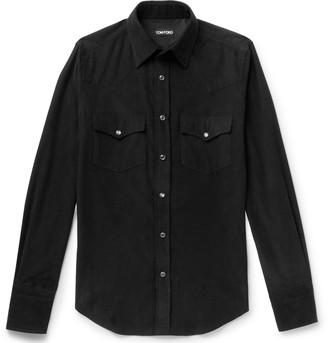 Tom Ford Cotton-Corduroy Western Shirt