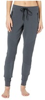 Alo Urban Moto Sweatpants (Anthracite) Women's Casual Pants